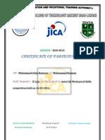 Certificate of Participation AutoCad
