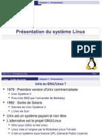 Linux - Chap1 - Presentation