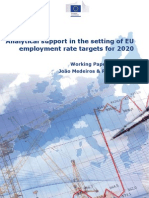 Analytical Support in the Setting of EU Employment Rate Targets for 2020 - Working Paper EC 1