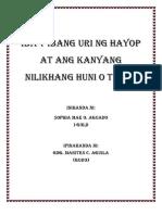 Hayop at Huni Nito