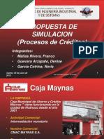 Propuesta de Simulacion