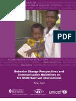 BehaviorChangePerspectives Child Survival JHU,AED,UNICEF 2005