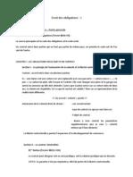 Droit Des Obligations - Partie B