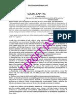 9th Social Capital