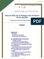 Carl Schmitt - El Concepto de lo Político
