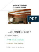 Basic Timber Engineering Emphasizing Glulam
