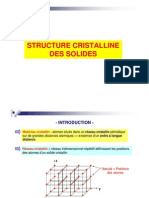 03- Structure Cristalline Des Solides