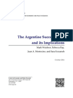 Weisbrot Ray Montecino Kozameh - Argentina Success and Its Implications