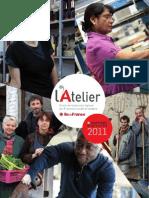 Rapport Activité 2011 de l'Atelier