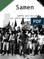 Samen - Pamflet Voor Het Vormen Van Affinity Groups - Digitale Versie - Webverie