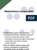 13,14 Metabolismul nucleotidelor prezentare