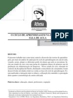 O CICLO DE APRENDIZAGEM NA PRÁTICA DE SALA DE AULA