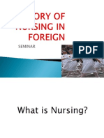 History of Nursing in Foreign