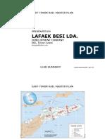East-timor Rail Master Plan