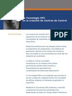 La Tecnología OPC en la creación de Centros de Control