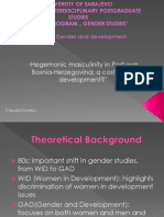 Presentation Masculinity