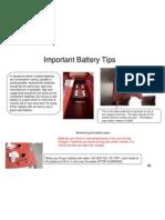 Batteries Tips