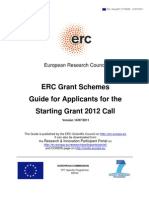 Erc 2012 Guide for Applicants Stg