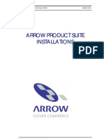 Arrow Product Suite Installations