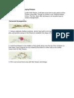 Eight Basic Flower Arranging Designs