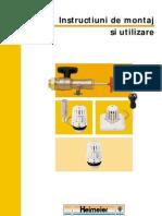 Manual Tehnic Robineti Heimeier1