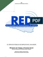 Red Un Modelo de Servicio Publico de Empleo El Salvador