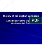 powerpoint history of english