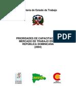 Prioridades de Capacitacion y Mercado de Trabajo en Republica Dominicana (2004)