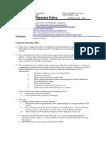 PH18-05 Computer Down Time Procedures (Unplanned)