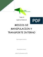 Medios de manipulación y transporte interno