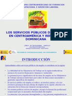 Presentacion Servicios Públicos de Empleo de Centroamérica y República Dominicana (Antigua Guatemala) Jul.2007