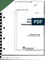 ANSI-ASME B16.9 Buttwelding Fittings