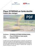 Pieux DYWIDAG-Cahier Des Charges