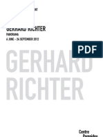 Gerhard Richter - Pompidou Centre - Press Pack