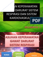 Akep Gawat Darurat Sistem Respirasi Dan Kardiovaskuler (Kel. 3)