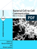 Bacterial Cell to Cell Communication