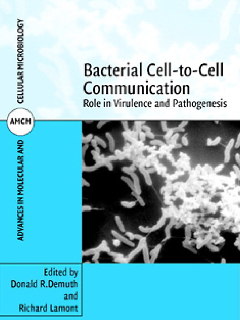 Bacterial Cell to Cell Communication   Pseudomonas Aeruginosa   Cell ...