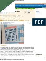 Realtime Webcam Sudoku Solver - CodeProject®