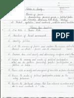 CSE Sociology Paper I - Topic VII -- Politics and Society