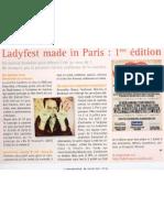 clara magazine (07/11, n.126), ladyfest paris