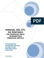 Manual de Pentaho Etl Transformacion