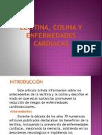 Lecitina, Colina y Enfermedades Cardiacas