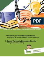 Validacion Instrumento Para Medir Violencia Escolar