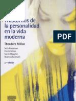 Trastornos de La Personalidad en La Vida Moderna