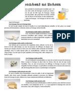 Les Fromages en France