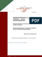 APROXIMACIÓN DOCIMOLÓGICA A LA EVALUACIÓN DE COMPETENCIAS DIGITALES Y DIDÁCTICAS DE PROFESORES UNIVERSITARIOS