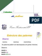 Estrutura Das Palavras i168200918492