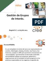 Presentacion Identificacion y Dialogos Con Grupos de Interes
