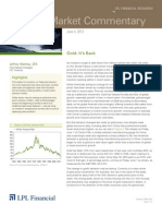 Weekly Market Commentary 6-5-2012