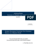 Achtung Baby- Germany is Riskier Than You Think